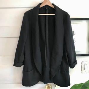 Black Flowy Blazer